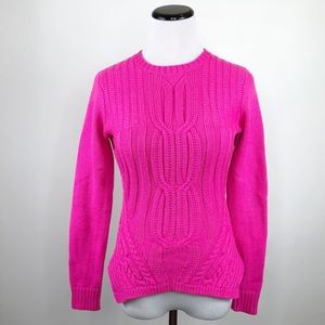 16e5d258b8bf32 Ted Baker London Sweaters - Ted Baker Daisuma Hot Pink Cable Knit Sweater